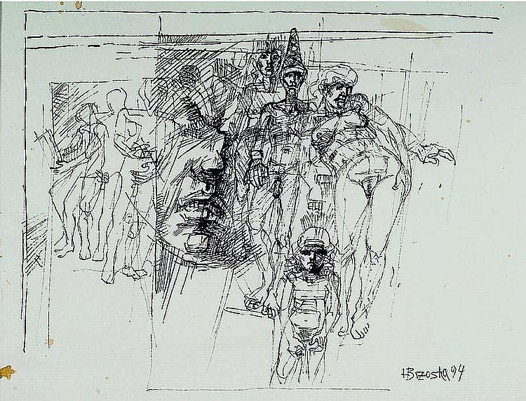 Brzoska, Heinz, geb. 1942 Kattowitz, vier versch.