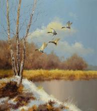 Dezim, hunting painter