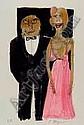 Ungerer, Tomi, geb. 1931, handaquarellierte, Tomi Ungerer, Click for value