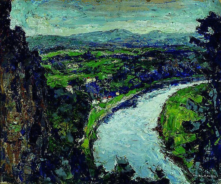 Blanke, Wilhelm, 1873-1942, Elbsandsteingebirge