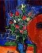 Kissel, Gernot, 1939 Worms-2008, Stilleben mit, Gernot Kissel, Click for value
