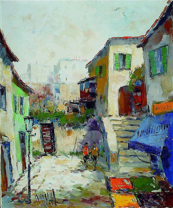 Nowak, Hans, 1922 Peine-1996, Ansicht aus Paris,