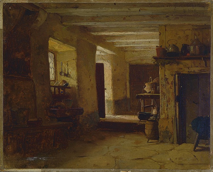 Attribution carl heinrich hoff 1839 mannheim 1890 for Hoff interieur germany