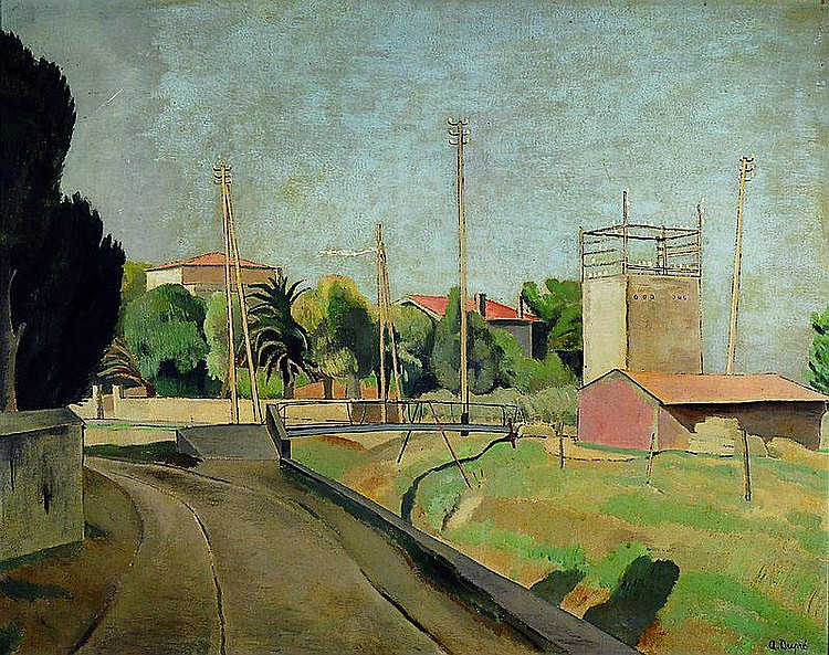 Dupré, Alfred, 1904-1956, Sanary, so rückseitig
