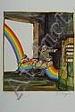 Ungerer, Tomi, geb. 1931, Die Regenbogen Bogen,, Tomi Ungerer, Click for value