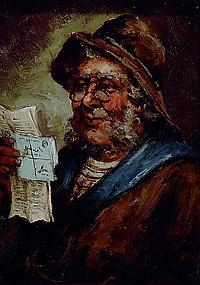 Fuchs, F., Maler um 1900, Nachrichten aus der