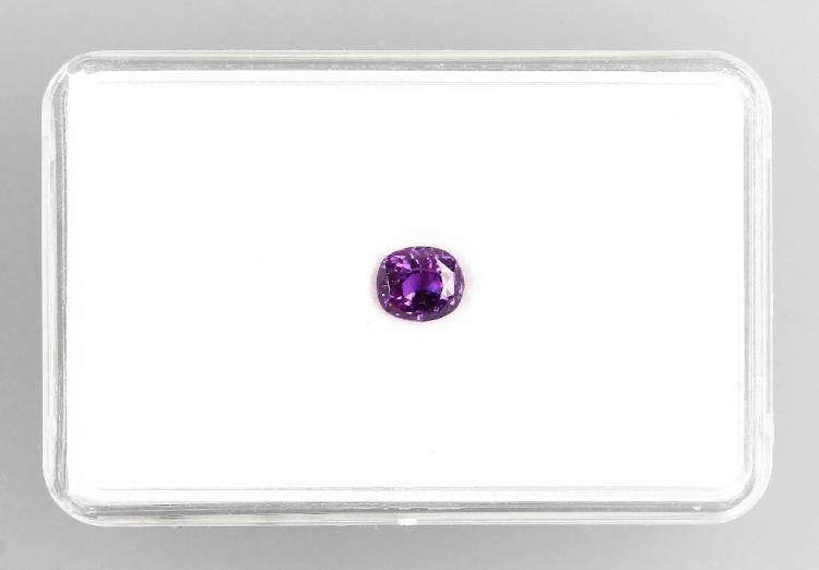 Loose spinel, oval bevelled
