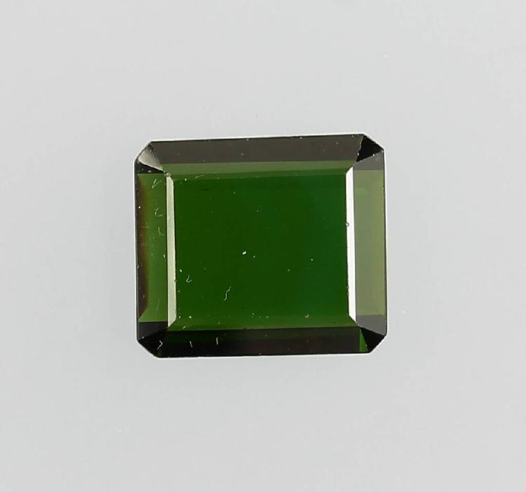 Verdellite as plate bevelled approx. 7.18 ct