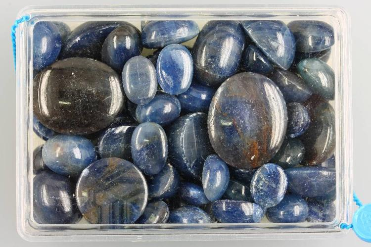 Lot loose sapphire cabochons total approx. 998.52 ct