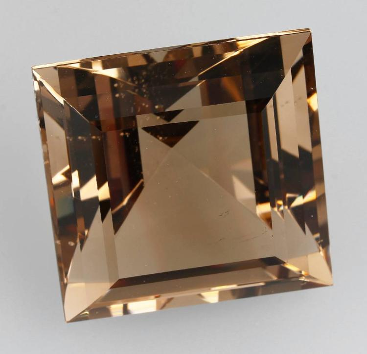 Smoky quartz square