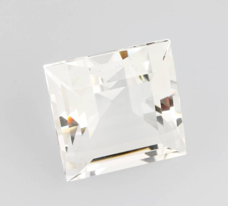 Rock crystal square