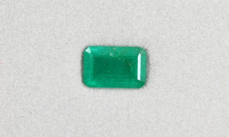 Loose emerald approx. 6.32 ct
