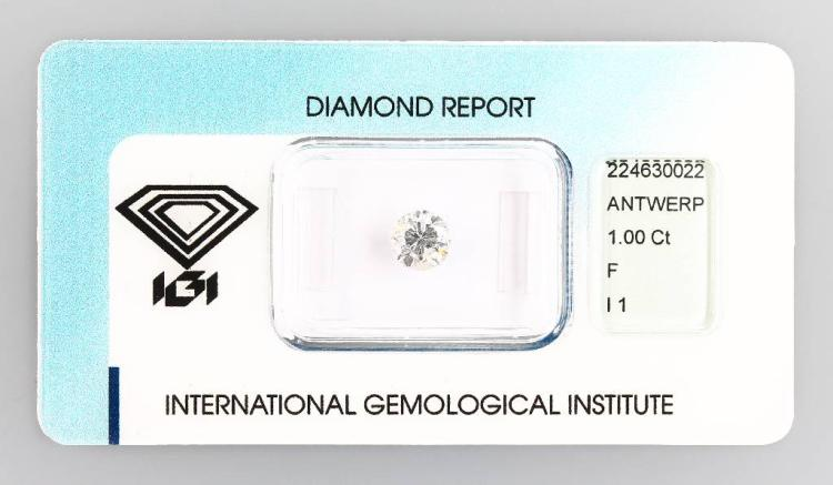 Brilliant 1.00 ct