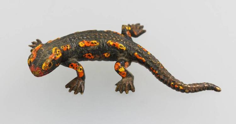 Salamander, Vienna approx. 1910s, austrian hallmark