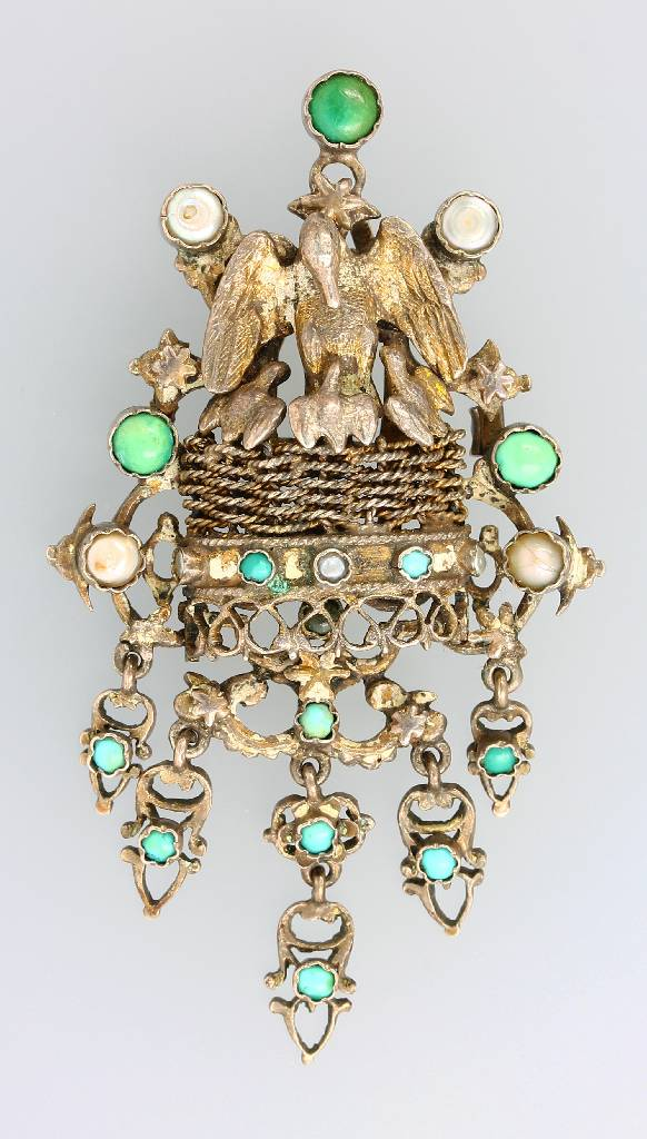 Brooch, Hungary approx. 1890