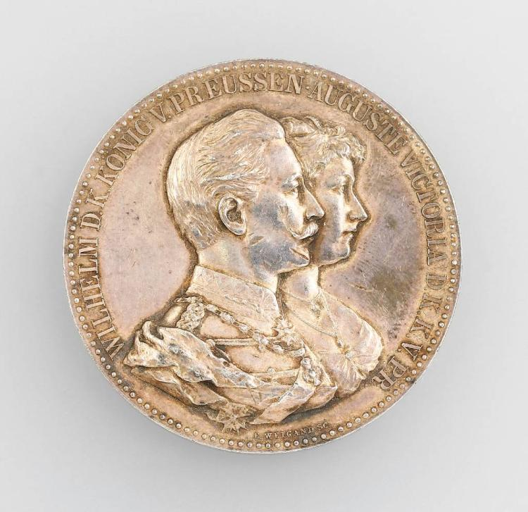 Silver medal, Prussia, 1906
