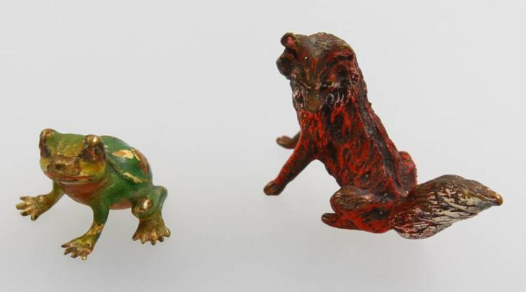 Lot 2 vienna bronzes, approx. 1910s