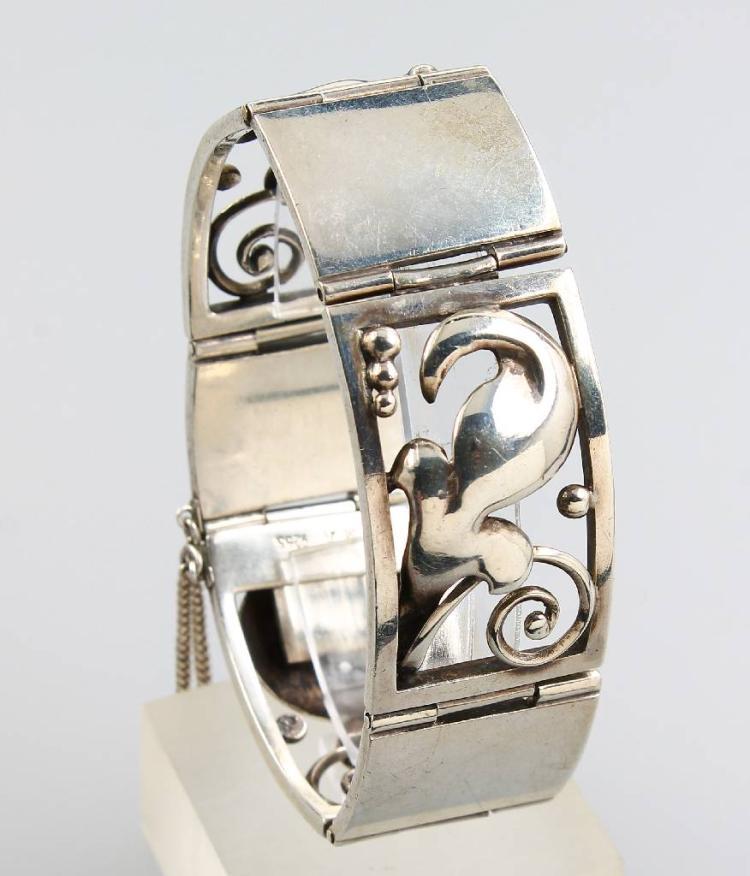 Bracelet, silver 925, Kopenhagen approx. 1925