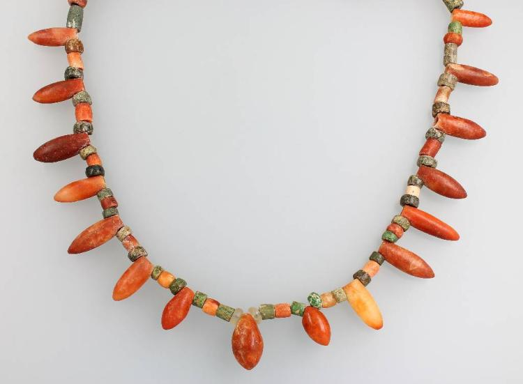 Necklace, Peru 900 - 1100 A.D., probably before Inka