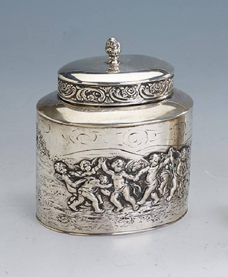 Tea caddy, german, Hanau approx. 1900