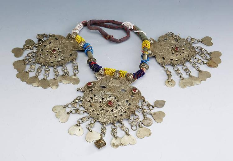 Wedding necklace, possibly East Africa/Zanzibar approx. 1910/20s