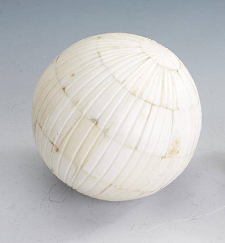 Sphere made of bone, India approx. 1900