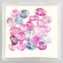 Lot loose sapphire