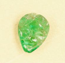 Emerald engraving