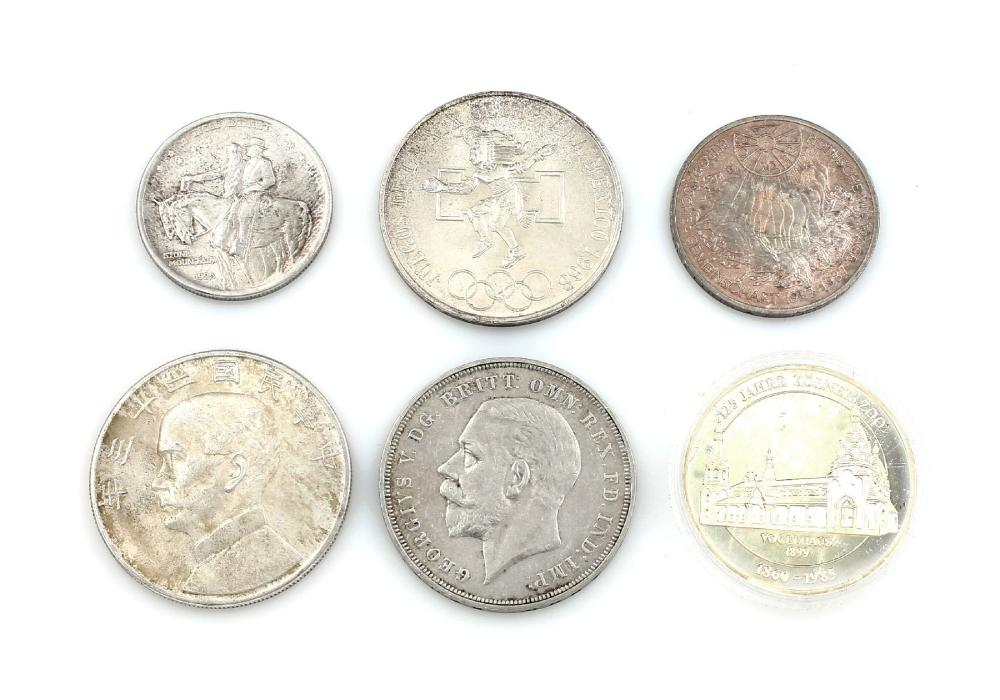 Lot 5 silver coins