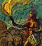 RICHARD POWERS (American 1921 - 1996) Tarzan the, Richard Michael Gorman Powers, Click for value