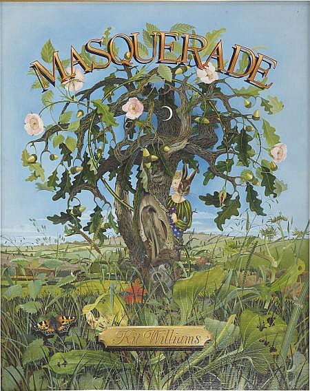 KIT WILLIAMS (American b. 1946) Masquerade, title