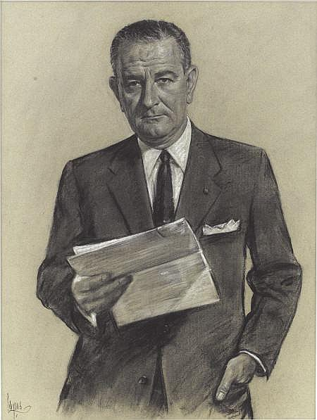 LOUIS LUPAS (American 20th Century) Portrait of