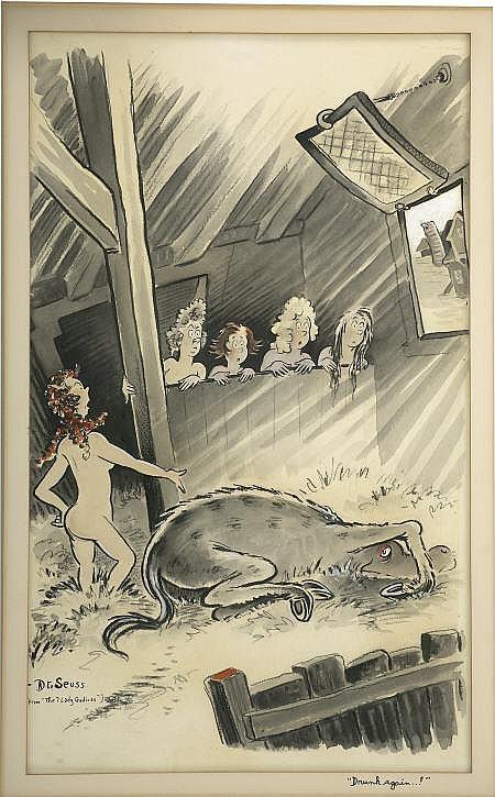 THEODOR SEUSS GEISEL (Dr. Seuss) (American 1904 -
