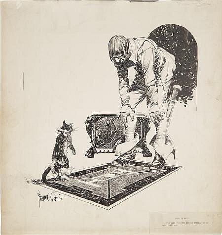 FRANK GODWIN (American 1889 - 1959) Puss In Boots,