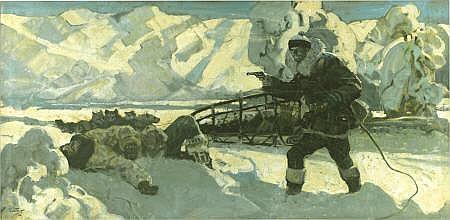 DANIEL CONTENT (American 1902 - 1990) Arctic