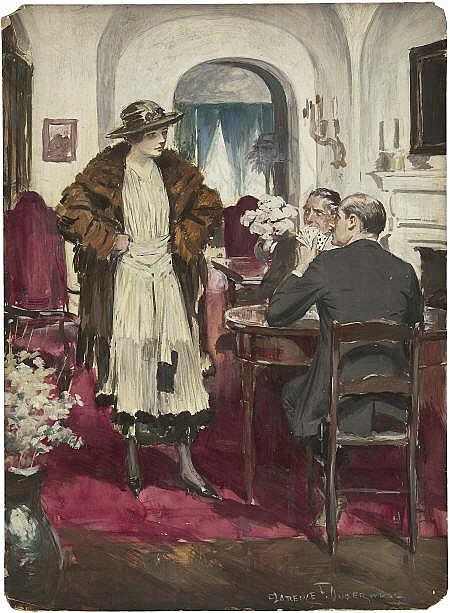 CLARENCE F. UNDERWOOD (American 1871 - 1929) The