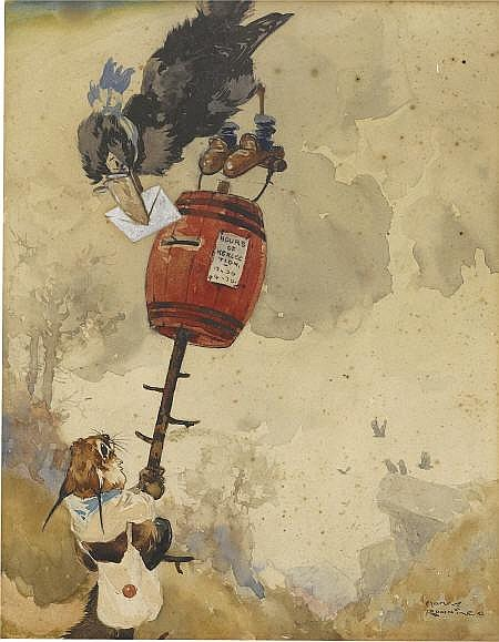 HARRY ROUNTREE (English 1878 - 1950) Children's