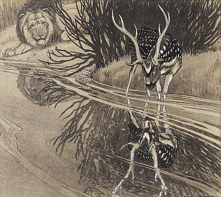 CHARLES LIVINGSTON BULL (American 1874 - 1932)
