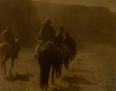 EDWARD SHERIFF CURTIS (American, 1868-1952) The Vanishi