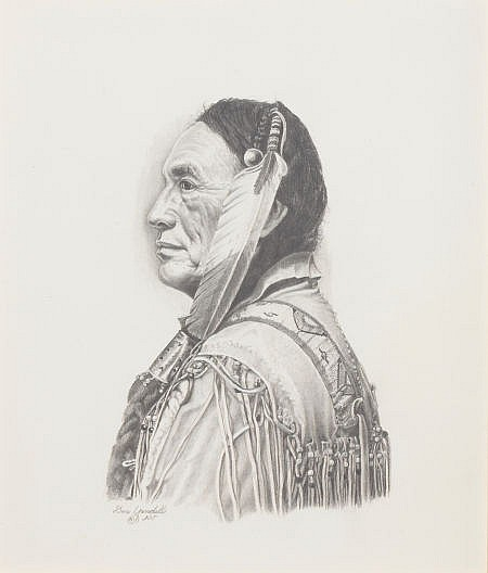 DON YANDELL (American, 20th Century) Eagle Feather, 198