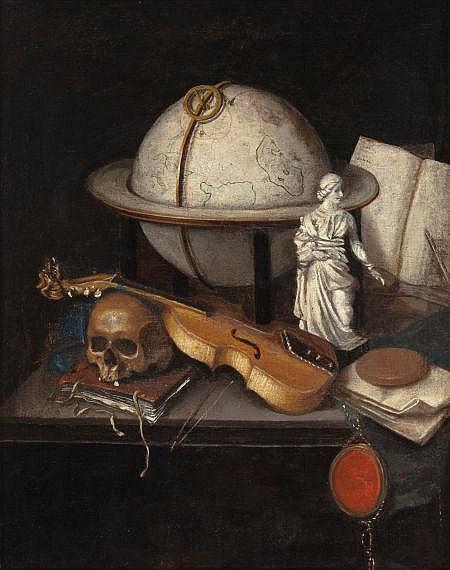 Follower of JAN VERMEULEN (Dutch, a. 1638-1674) Vanitas