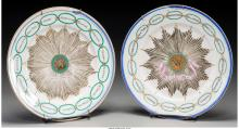 A Pair of Chinese Export-Style Porcelain Colonial Ameri