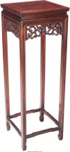 A Chinese Rosewood Side Table, 20th century 36 inches h