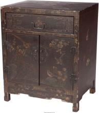 A Chinese Lacquered Cabinet, early 20th century 24 h x