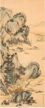 Chinese School (20th Century) Chinese landscape Ink and