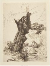 After Rembrandt van Rijn (Dutch) St. Jerome Beside a Po