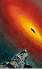 John Conrad Berkey (American, 1932-2008) The Gold at Star Bow's End, paperback c