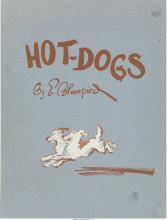 Edmund Blampied (British, 1886-1966) Hot-Dogs , 1934 Complete portfolio of twele
