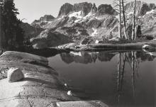 Philip Hyde (American, 1921-2006) The Minarets, Sierra Nevada, California, 1950