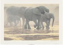 Robert McLellan Bateman (Canadian, b. 1930) By the River, 2000 Offset lithograph